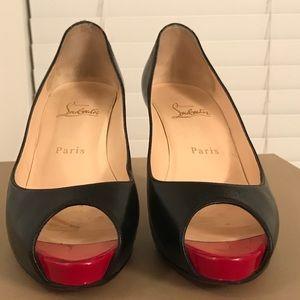 Christian Louboutin Peep Toe Shoes